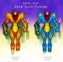 Metroid Fusion Zeta Suit by Billysan291