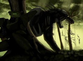 Forest Demon by RedusTheRiotAct