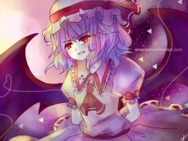 Remilia Scarlet by EmarieChi