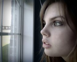 Looking Out From The Window by HaylieArtPhoto