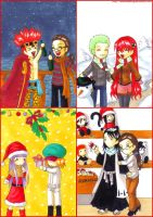 Xmas postcard 2009: part 1 by ShahanaMikagi