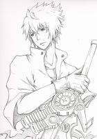 noctis lineart by tendou24