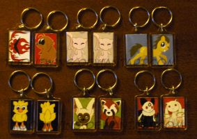 Got Keychains 5 by ToonTwins