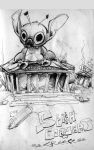 Stitch Conquers Greece by efdemon