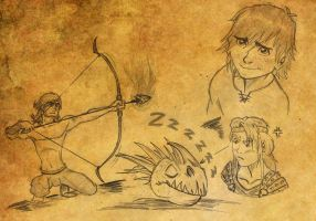 HTTYD_sketches by Bintavivi