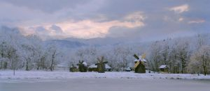 Winter at Astra museum by Not-of-this-age