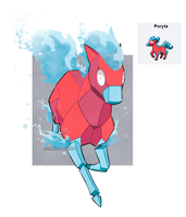 PokeFusion:: Poryta by CookieHana