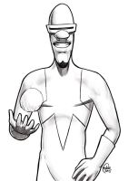 Daily Sketches Frozone by fedde