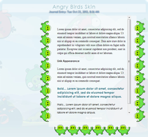 Angry Birds Journal Skin by ChinZaPep