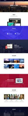 Nine 2 Five - One Page Muse Theme by styleWish
