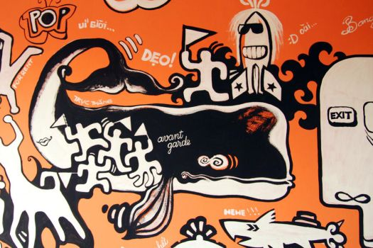 My Mural Painting - detail by HiepHD