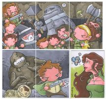 a few LotR sketch cards by katiecandraw