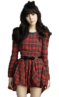 SNSD Tiffany Christmas ~PNG~ by JaslynKpopPngs