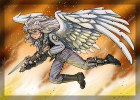 Condor for Spikecomix by chaypeta