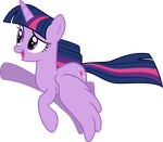First Twilight Sparkle vector! by DecPrincess