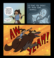Aang is the Best Guide EVER by Booter-Freak