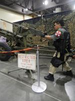 Phoenix Comicon 2014 Resident Evil UBCS w/.50 cal by Demon-Lord-Cosplay