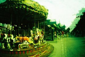 Merry go round by BloodType0
