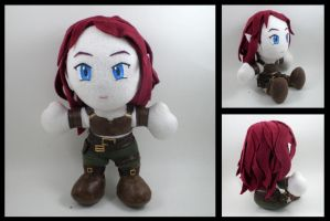 Dragon Age city elf plushie by eitanya
