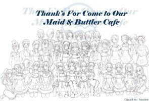 LQD Maid and Buttle Cafe by Novclow
