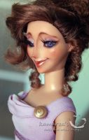 Disney Keepsake Megara doll repaint 3 by kamarza