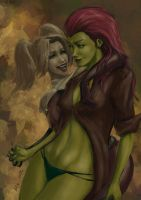 Harley And Ivy by themimig