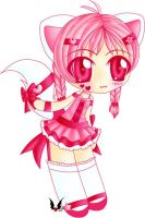 Pink Kitty Lolita by shiin
