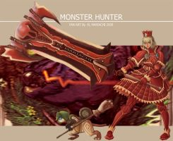 FanArt-Monsterhunter-rar by REAL-ELMARIACHI