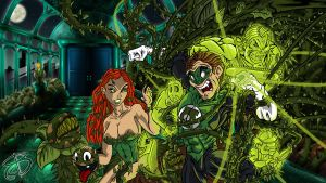 Green Lantern VS Poison Ivy by RCBrock