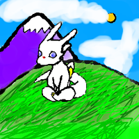 Chibi in the mountains by Lare-yoshi