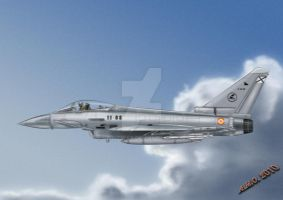 Eurofighter Typhoon EA Spain by spiritwar