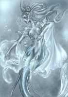 Veil Mermaid by driany