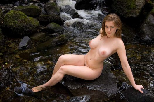 River nymph by CelticGlamour