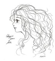 Just Merida... by x-Lilou-chan-x