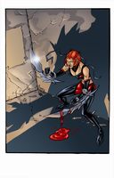 BloodRayne Shadow Pin-up by Darry