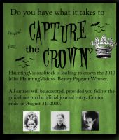 Miss HauntingVisions Pageant by HauntingVisionsStock
