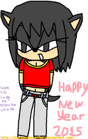 Happy New Year 2015 From Pan~! by Knuxamyloverfan