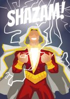 Shazam Illustration Fan Art by seiren-sama