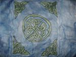 Celtic Silk Painting by IronBrony