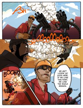 TF2: Be Efficient Be Polite 25 by spacerocketbunny