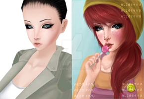 IMVU DP - Colourful by Alzeh
