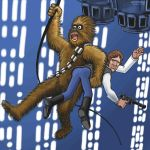 Chewy Over Chasm by zenzmurfy