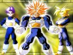 Dragon Ball Z Wallpaper Trunks by cyazian