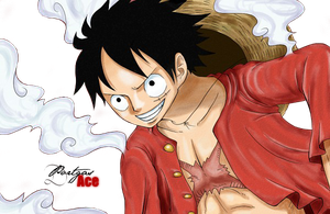 Render Monkey D. Luffy by Portgas-D-Ace29