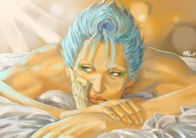 Relaxed Grimmjow 2014 Version by jusaebit