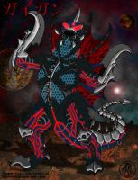 Infinity Gigan by BloodDragon3000