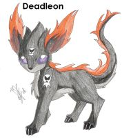 Special Fakemon Deadleon by 12liza12
