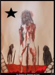 The Blackstar III, Impalement and Death by johnfboslet1965