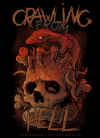 For Crawling From Hell by KGArtDesign