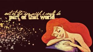 Ariel Wallpaper by lulii13omg
